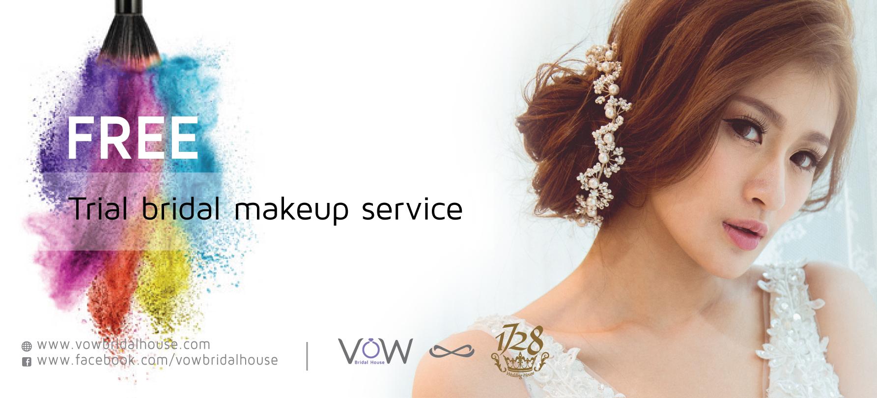 Free Bridal Makeup Trial