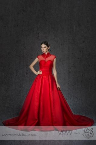 ELEGANT WEDDING DRESS STYLE007