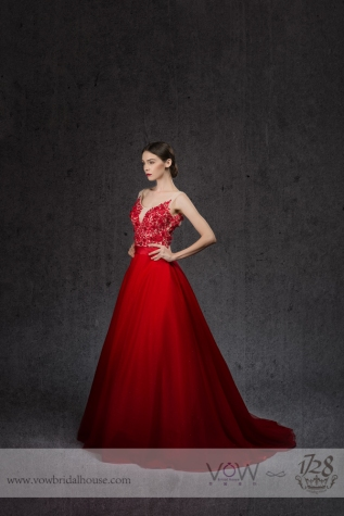 ELEGANT WEDDING DRESS STYLE008