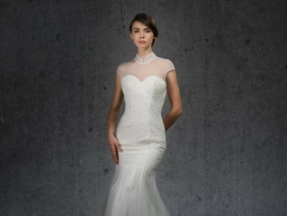 ELEGANT WEDDING DRESS STYLE012