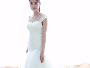 Sweetheart Neckline off shoulder Mermaid Wedding Dress