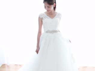 Gorgeous Tulle & Organza Sweetheart Neckline Ball Gown
