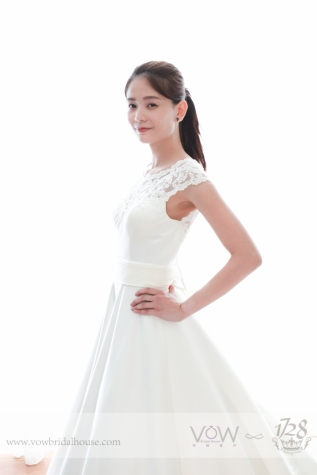 WG001 – A Line Wedding Dress