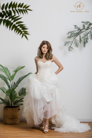 Luxury Europe Lace Wedding Dress