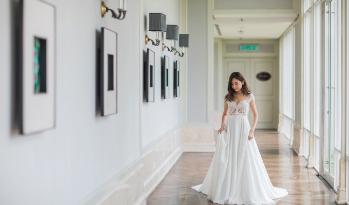 Romantic Wedding Dress from Calla Blanche Collection