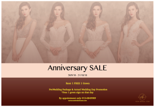 Anniversary Promotion 2018