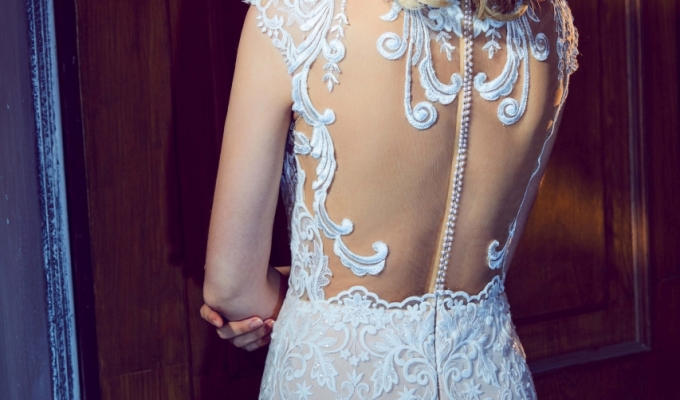 Classic Wedding Gown from CallaBlanche