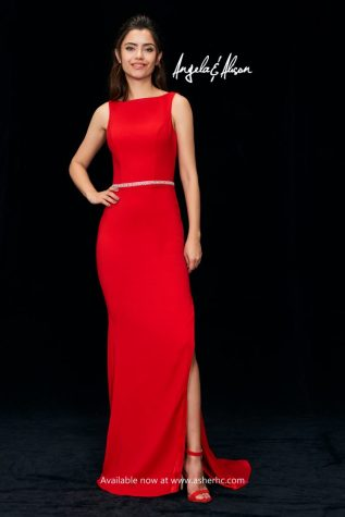 Elegant Red Evening Gown For Rent or Pre Order