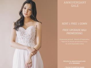 Wedding Gown Anniversary Sale 2019