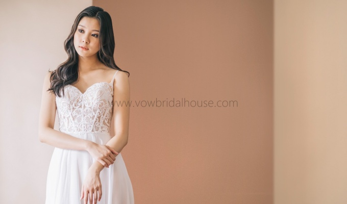 Perfect Wedding Gown from CallaBlanche
